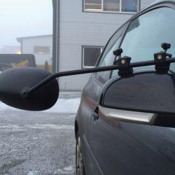 Milenco Aero speil for campingvogn