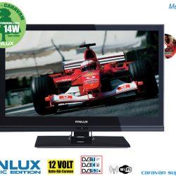 Finlux LED TV 230V / 12V med DVD-spiller 20 tommer