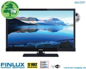 Finlux LED TV 230V / 12V med DVD-spiller 22 tommer