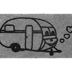 Dørmatte Arisol Derby Campinngvogn 50x25cm grå