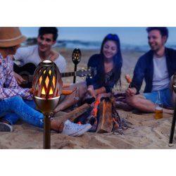 Homeline LED-lampe med flammeimitasjon