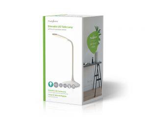 LED oppladbar bordlampe - Nedis 250