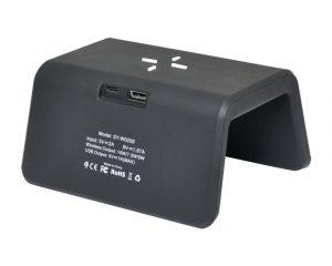 Audix vekkerklokke med trådløs lader